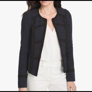 WHBM | Tweed Military Style Blazer | 10